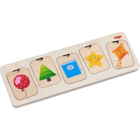 Holzpuzzle Farben & Formen HABA 304586