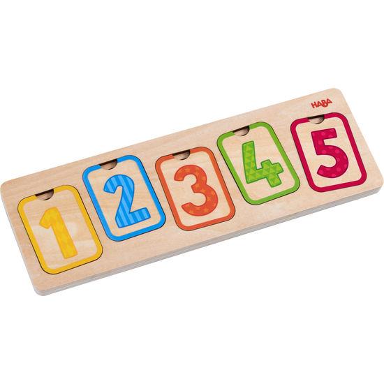 Holzpuzzle Erste Zahlen HABA 304587