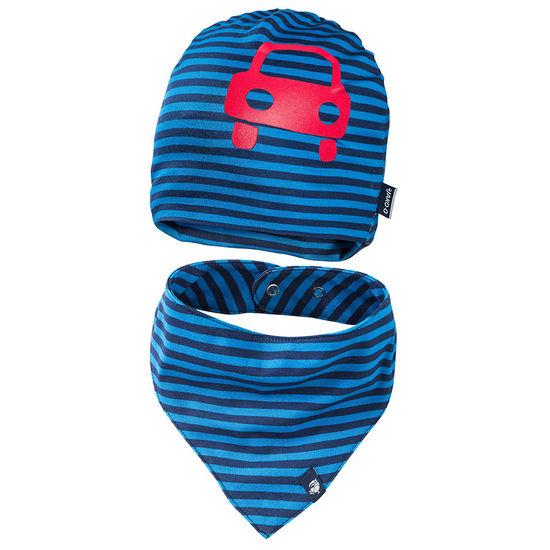 Baby Erstlings-Set Mütze und Halstuch JAKO-O