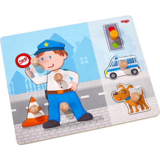 Greifpuzzle Polizeieinsatz HABA 304590