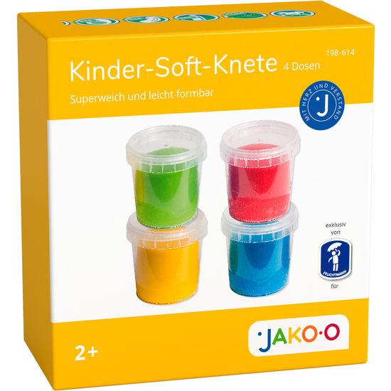 Kinder Soft-Knete, 4 Dosen à 150 g