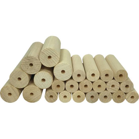 Playmat Drechselrohlinge, 24 Stück