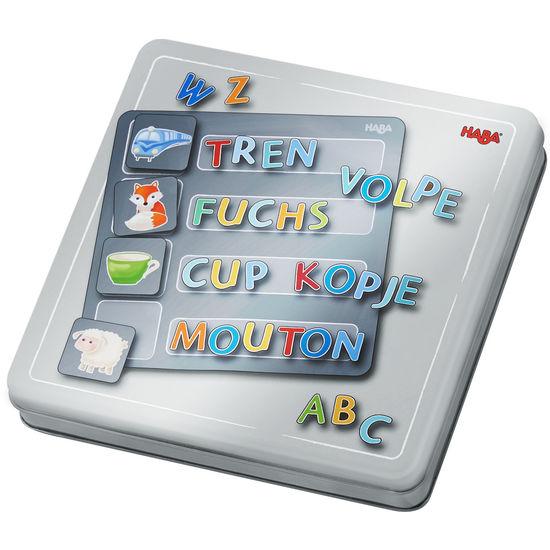 Magnetspiel-Box Buchstaben HABA 305049