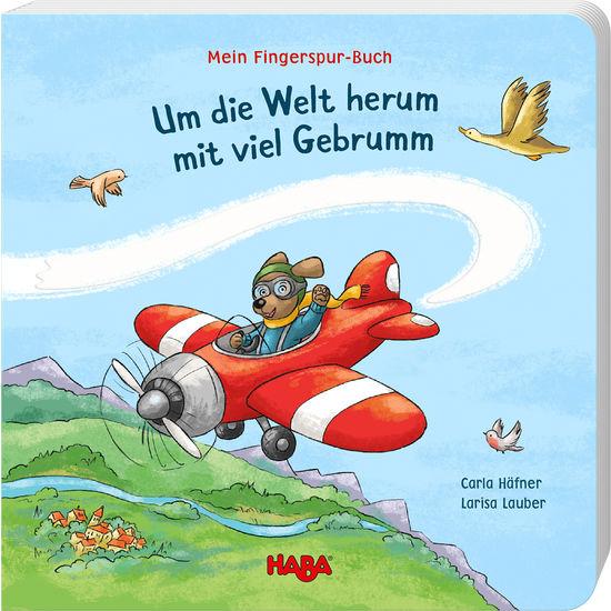 Mein Fingerspur-Buch – Um die Welt herum mit viel Gebrumm HABA 305058