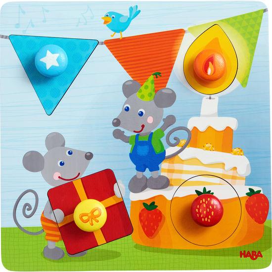 Greifpuzzle Geburtstagsmäuse HABA 305205