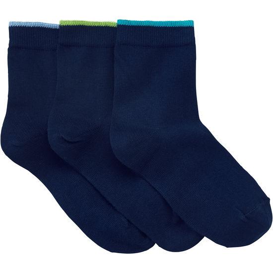 Kinder Socken Sortierrand JAKO-O, 3er-Pack