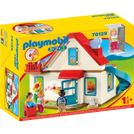 PLAYMOBIL® 1.2.3 70129 Einfamilienhaus