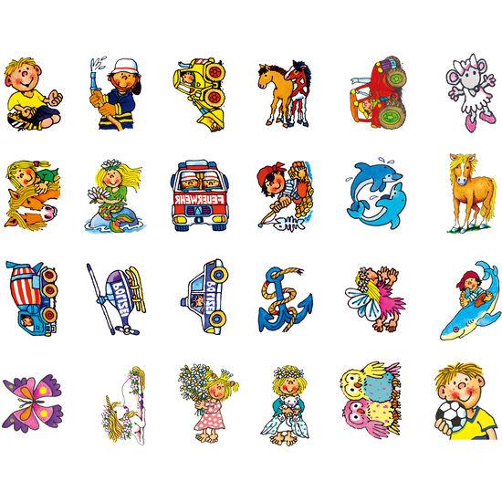 Tattoos von Lutz Mauder, 24 Stück