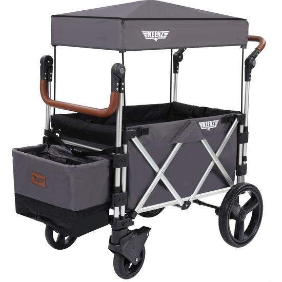 KEENZ 7S Stroller Wagon Bollerwagen mit Dach, faltbar