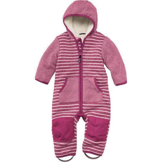 Baby Strickfleece-Overall mit Teddyfleece JAKO-O, robust