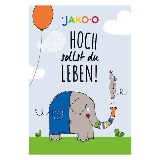 Gutschein 100 € Geburtstag/Elefant, nur per Mail