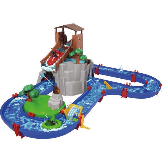 Aquaplay® Wasserbahn Adventure Land, 57-teilig