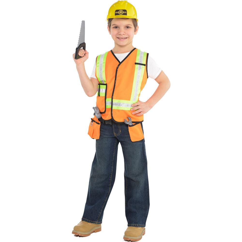 """Kinder-Weste /""""Bauarbeiter/"""""""