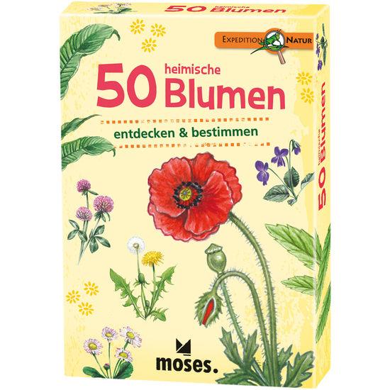 moses. 50 heimische Blumen entdecken & bestimmen