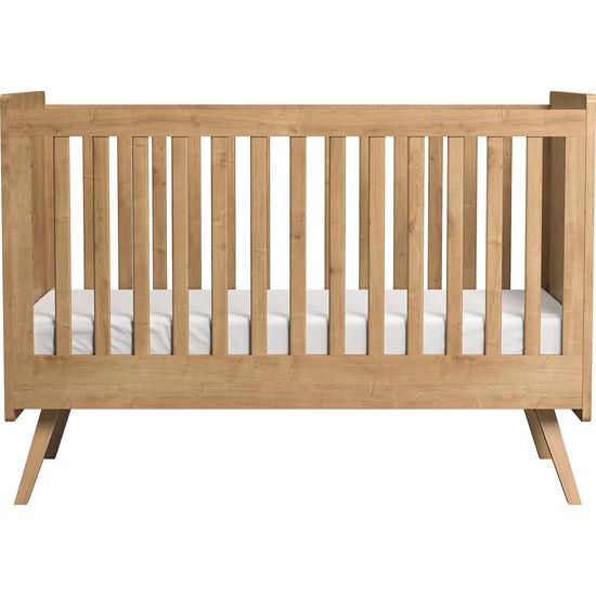VOX Vintage Baby- und Kinderbett 70 x 140 cm, umbaubar