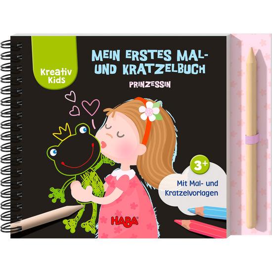 Kreativ Kids – Mein erstes Mal- und Kratzelbuch Prinzessin HABA 305534