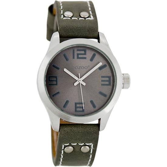 OOZOO Armbanduhr mit Lederarmband