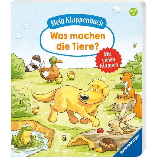 Ravensburger Mein Klappenbuch Was machen die Tiere