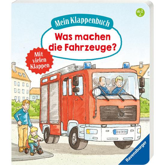 Ravensburger Mein Klappenbuch Was machen die Fahrzeuge