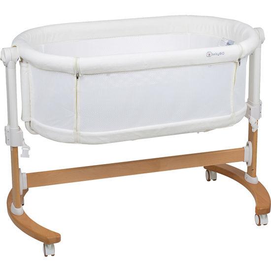 BabyGO Baby-Beistellbett Amila, mit Wiegenfunktion