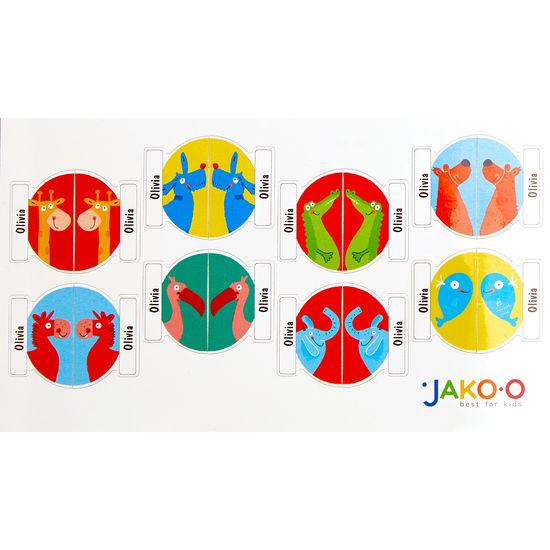 Schuhsticker JAKO-O, 16 Stück