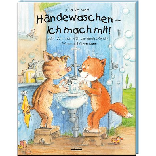 Bilderbuch Händewaschen, ich mach mit