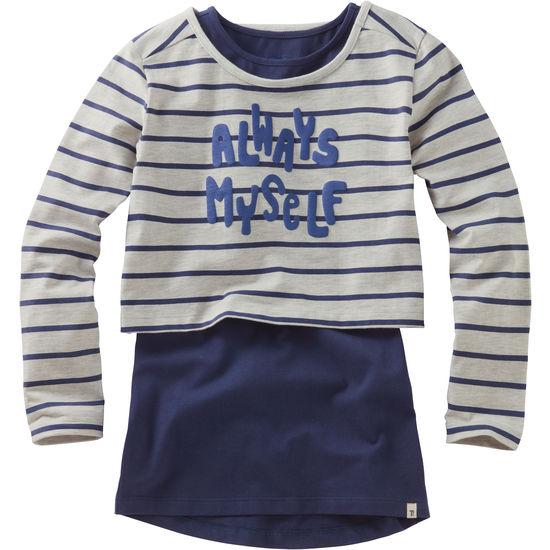 Mädchen Shirt 2-in-1 FIT-Z