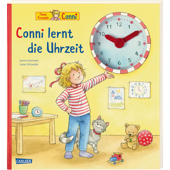 Bilderbuch Conni lernt die Uhrzeit