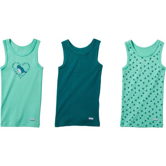 Mädchen Unterhemd JAKO-O, 3er-Pack