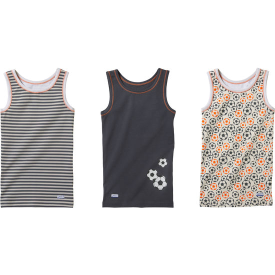 Jungen Unterhemd mit Motiv JAKO-O, 3er-Pack