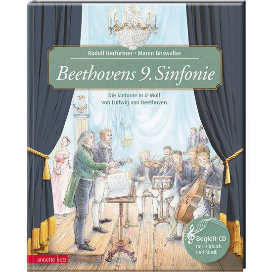 Annette Betz Verlag – Beethovens 9. Sinfonie, musikalisches Bilderbuch inkl. CD