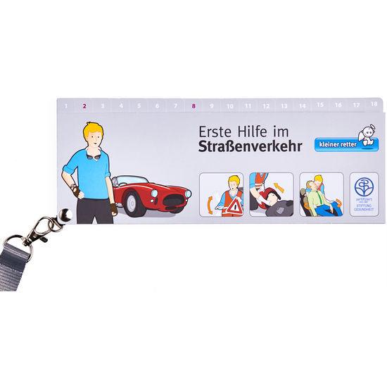 kleiner retter – Erste Hilfe im Straßenverkehr