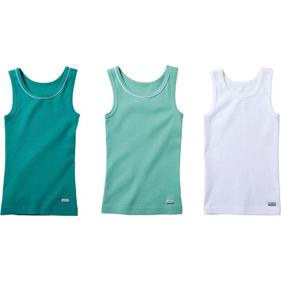 Kinder Unterhemd Feinripp JAKO-O, 3er-Pack, extra lang