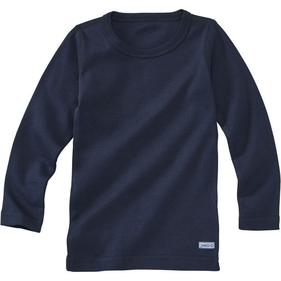 Kinder Unterhemd Baumwolle JAKO-O, Langarm