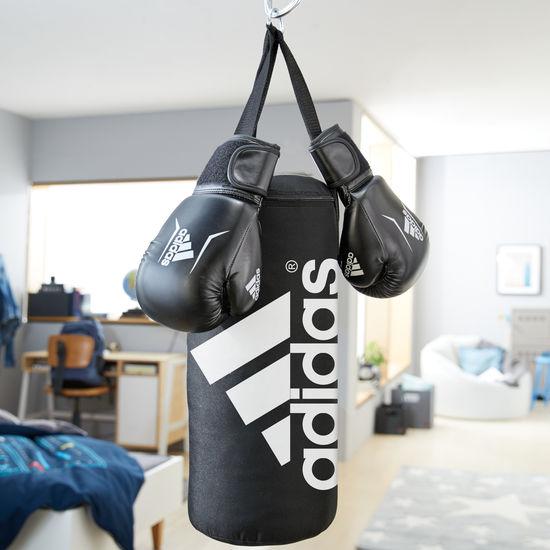 adidas Boxing Set Junior, Boxsack + Boxhandschuhe