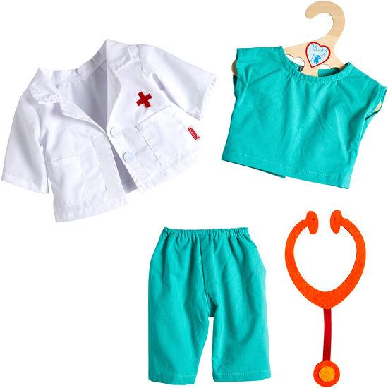 Heless® Puppen-Outfit Ärztin/Arzt, 4-teilig