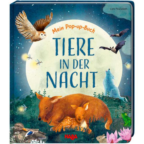 Mein Pop-up-Buch Tiere in der Nacht HABA 305836