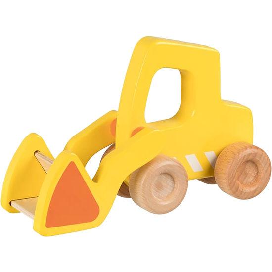 goki Kinder Schiebefahrzeug Lastwagen Holz