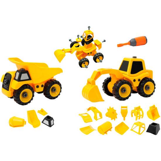 JAMARA Bausatz Baufahrzeugset 9 in 2
