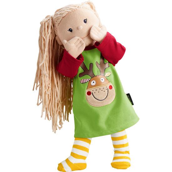 Krümel Puppen-Kleid Weihnachten JAKO-O