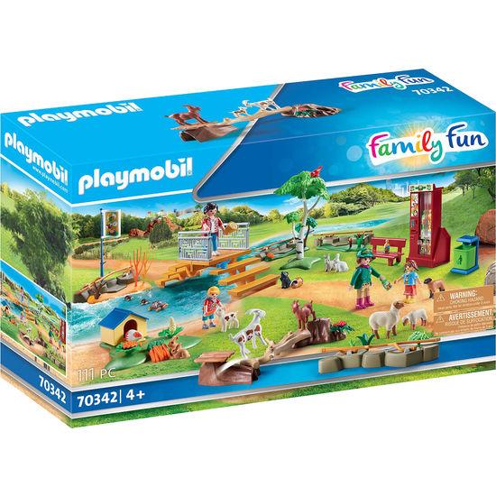 PLAYMOBIL® Family Fun 70342 Erlebnis-Streichelzoo