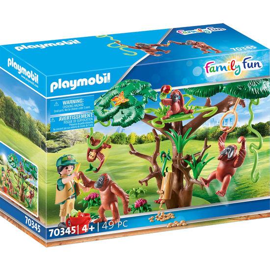 PLAYMOBIL® Family Fun 70345 Orang Utans im Baum