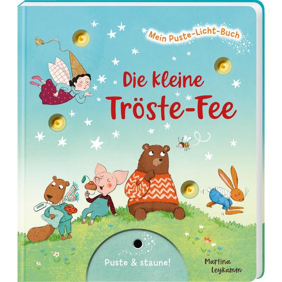 Kinder Papp-Bilderbuch Mein Puste-Licht-Buch Die kleine Tröste-Fee