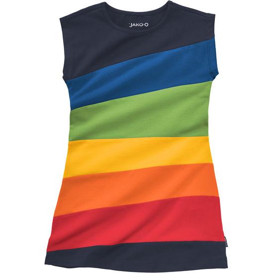 Mädchen Kleid Farbbahnen JAKO-O bunt