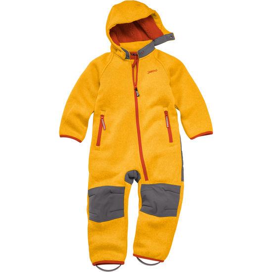 Baby Strickfleece-Overall JAKO-O, mit Robustbesatz