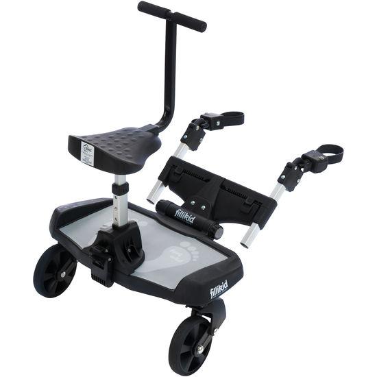 fillikid Kinder Buggyboard mit Zusatzsitz