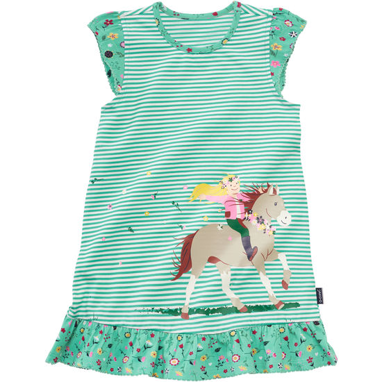 Kleid mit Pferdeprint aus Jersey JAKO-O