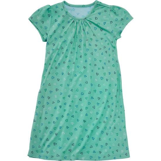 Mädchen Kleid mit Allover-Motiv JAKO-O