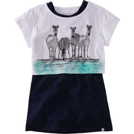 2-in-1 Shirt FIT-Z Crop-Top