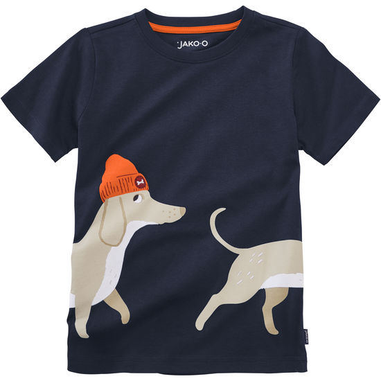 T-Shirt mit Tiermotiven für Kinder aus Jersey JAKO-O